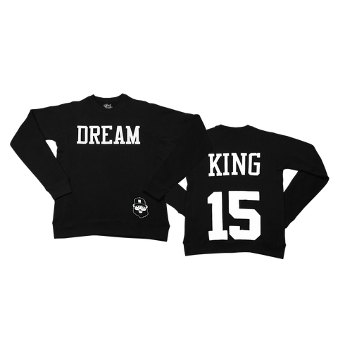 Signature Dream King Sweatshirt - Black