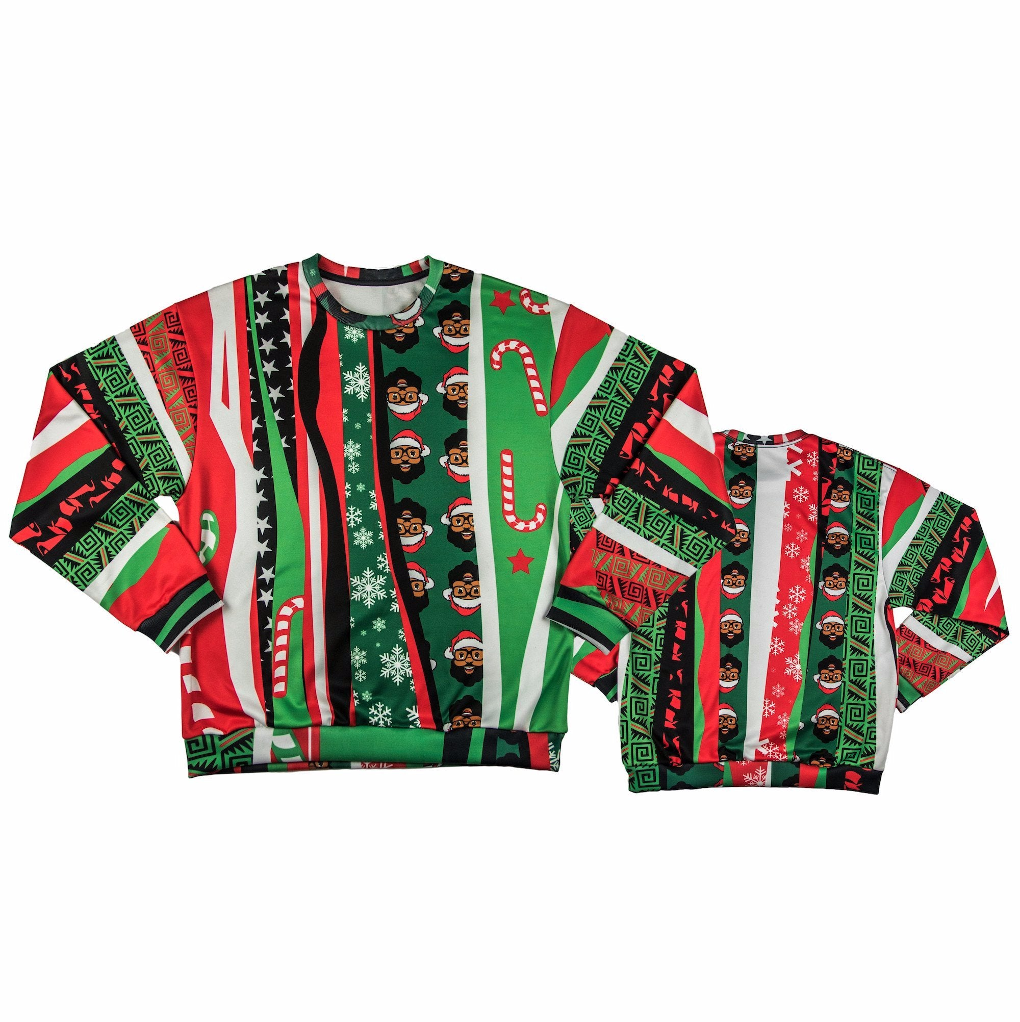 Limited Edition Black Santa Ugly Christmas Sweater