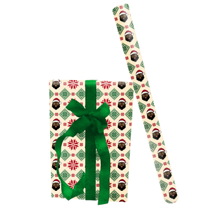 Poinsettia Wrapping Paper