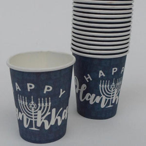 Happy Hanukah Cup - The Black Santa Company