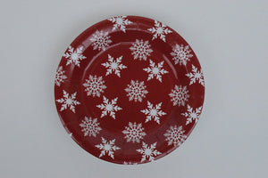 Star and Flakes Large Plate