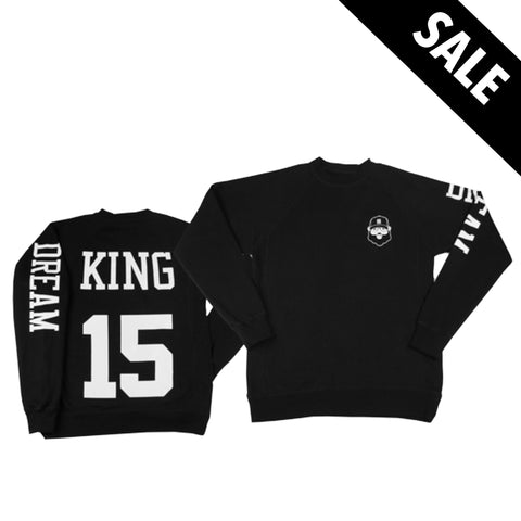 Black Santa King Sweatshirt - Black