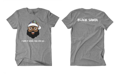 Black Santa Love It Tee