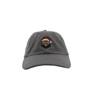 Santa Face Dad Hat - The Black Santa Company