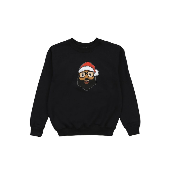Santa Face Youth Crewneck - The Black Santa Company
