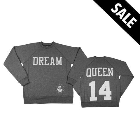 Signature Dream Queen Sweatshirt - Heather Gray
