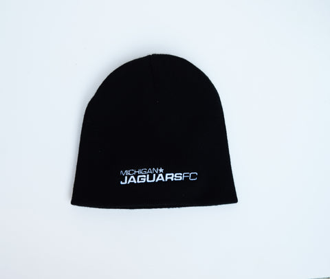 Michigan Jaguars FC Black Beanie