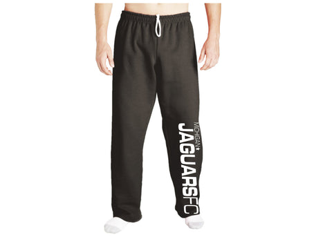Michigan Jaguar FC Open Bottom Sweatpant - Black