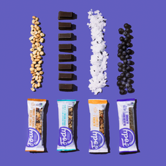 Low FODMAP Snacks <br><b><big>Sample Variety Snack Bar </big></b><br>4-Pack (Try 'Em All) <br><small>Bundle & Save</small>