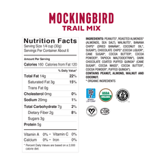 <b><big> Low FODMAP <br> Mockingbird Multipack Bag </big></b> <br> <small> 6 x Mini Packs<br>Gluten & Lactose Free</small>