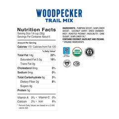 <b><big> Low FODMAP <br> Woodpecker Multipack Bag </big></b> <br> <small> 6 x Mini Packs<br>Gluten & Lactose Free</small>
