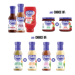Low FODMAP<br><b><big>Grill 'n Chill<br>BBQ Sauce Bundle </big></b><br>(Build Your Own!) <br><small>Bundle & Save</small>