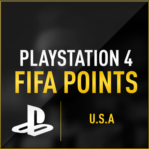 Playstation 4 Fifa Points Account - USA/CA ONLY