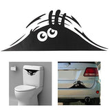 Cute Eyes Peeking monster Car Decal Sticker
