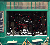 TOTOMO #W102 Christmas Town Window & Wall Decal Stickers