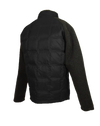 ASHORE MENS DOWN AND SWEATER SOFTSHELL HYBRID JACKETS IN BLACK