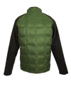 ASHORE MENS DOWN AND SWEATER SOFTSHELL HYBRID JACKETS IN OLIVE