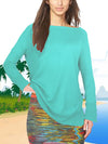 ASHORE WOMENS CLASSIC FINE LONG SWEATERS