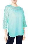 WOMENS YOKE LACE TOPS