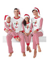 Family Matching Pajama Sets 2020 Family New Year Christmas Pajamas XMAS Striped Print