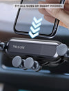 ASHORESHOP Smart Travel Gear Adjustable Phone Holder for Car Travelers