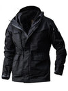 019 Mens Cotton Field Jacket Mens Casual Parka Full Lining Coat