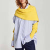 ASHORESHOP Winter Shawl Scarf with Sleeves 2019 Spring Autumn Knitting Shawl Scarves