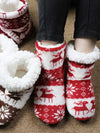 Holiday Home Slippers Winter Shoes Christmas Indoor Socks Shoes