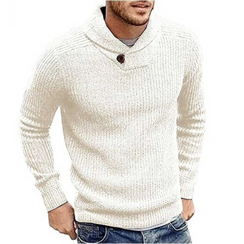 Mens Sweater Men Clothing Men tops Mens Fall 2019 Clothing ASHORESHOP 2019  Fall Cowl neck knitted men sweater pullover cable swea – ASHORE SHOP