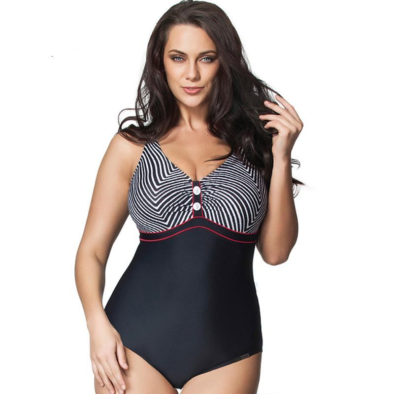 Sexy one piece swimsuits for plus size women