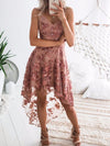 ASHORESHOP Vacation Party Lace Dresses Bohemian Beach Style Two Layer Dresses