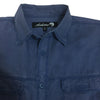 ASHORE Men High Quality Washed Vintage Rugged Cotton Solid Shirt