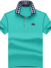 Fresh Men's Polo Shirt Men Cotton Short Sleeve Polo Shirt 8XL