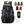 2019 Medium Capacity Nylon Waterproof Sport Mountaineering Bag With USB charging