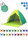 ASHORESHOP Vacation Folding Beach Tent Sun Shelter Anti-UV  Anti Insects