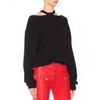 Autumn Winter Off Shoulder Long Sleeve Casual Sweater