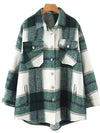 womens flannel shirt jacket fall 2019