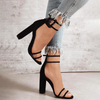 Woman Sandals High Heels Fashion Transparent Summer Shoes Women Pump