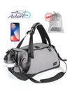 Ashoreshop Recreation Travel Bag USB Charging Shoe Compartment