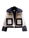 Spring Female loose Faux Suede Fur Winter Warm Hip Short Jacket
