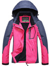 Spring Rain Coat Women Outerwear Hooded Windproof Jacket