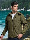 Mens Spring Summer Outdoor Windbreaker Men' S Thin Jackets Hooded