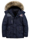Mens White Goose Down Canadian Snorkel 2020 winter new Winter Coat