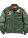 Ashoreshop autumn air force bomber jacket