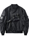 ASHORESHOP Mens Black Sea Pirate Jacket