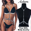 ASHORE Pool Party Collection Bikini Sets and Free Matching Body Jewelry Gift