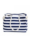 Marian Stripe shoulder bag beach handbag