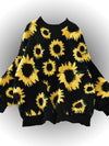 Sunflower Berber Fleece Hoodie Jackets