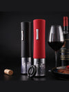 Vacation Automatic Electric Bottle Jar Opener for Red Wine Foil Cutter