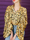 UNCONVENTIONAL DESIGN  Leopard Womens Blouses Designer Limited Edition ASHORESHOP 2020
